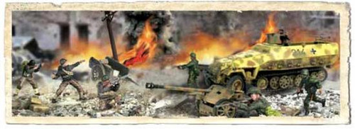 Forces of Valor s of Valor 1:72 D-Day Commemorative Series German Sd. Kfz. 251/1 Hanomag and 75mm PaK 40 1/7