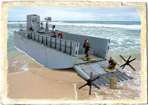 Forces of Valor s of Valor 1:72 D-Day Commemorative Series U.S. LCM3 Landing Craft 1/7