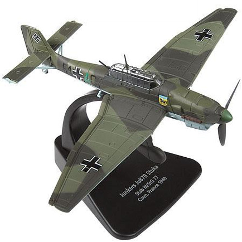 Forces of Valor s of Valor 1:72 Enthusiast Series Planes German Junkers Ju87B Stuka 1/7