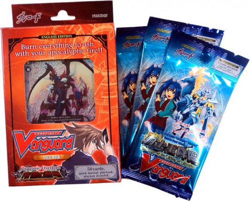 Cardfight Vanguard Dragonic Overlord Value Bundle Trial Deck Combo Set
