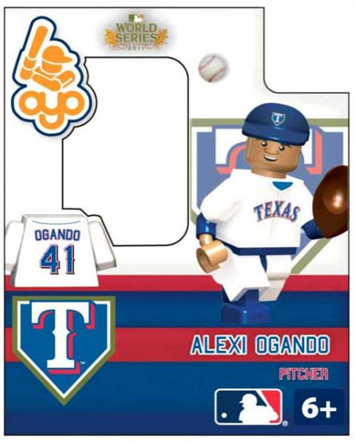 Texas Rangers MLB 2011 World Series Alexi Ogando Minifigure