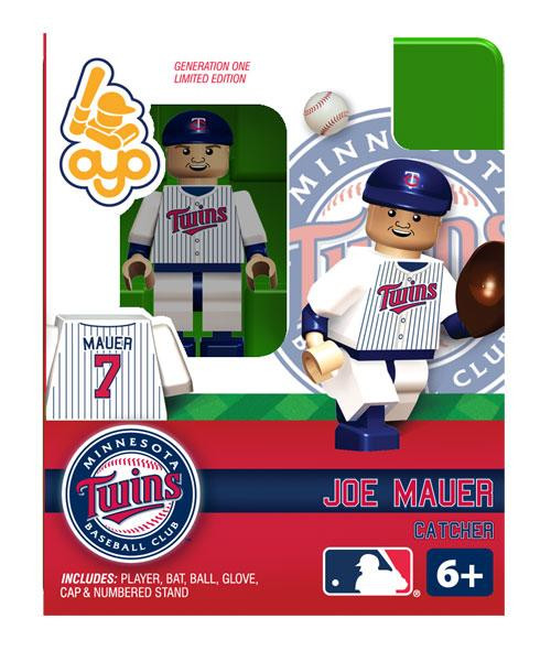 Minnesota Twins MLB Generation One Joe Mauer Minifigure