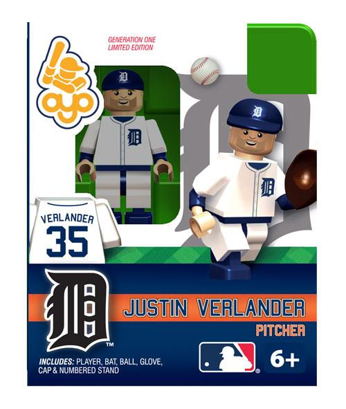 Detroit Tigers MLB Generation One Justin Verlander Minifigure
