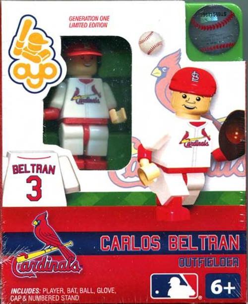 St. Louis Cardinals MLB Generation One Carlos Beltran Minifigure
