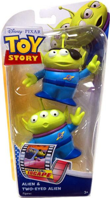 Toy Story Operation Escape Alien & Two-Eyed-Alien Action Figure 2-Pack