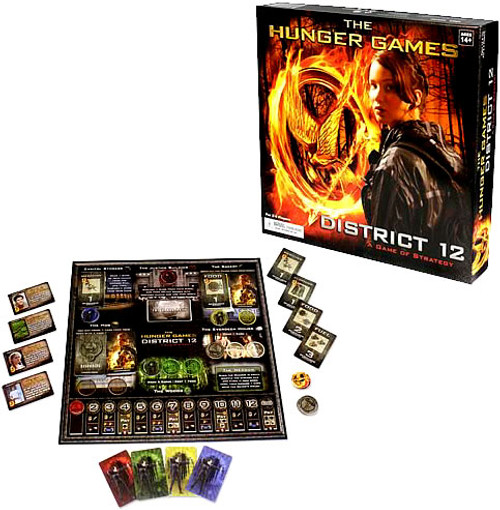 NECA The Hunger Games District 12 Board Game