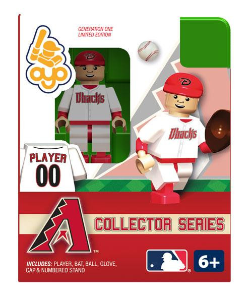 MLB Generation One Arizona Diamondbacks Minifigure