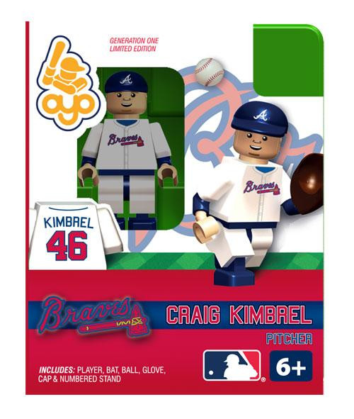 Atlanta Braves MLB Generation One Craig Kimbrel Minifigure