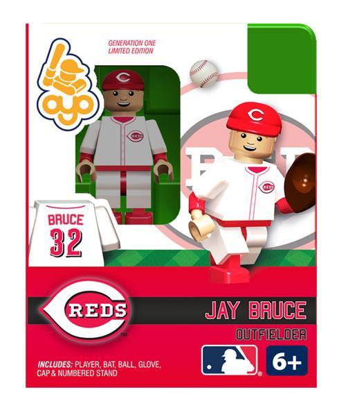 Cincinnati Reds MLB Generation One Jay Bruce Minifigure