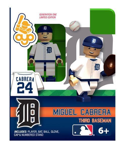 Detroit Tigers MLB Generation One Miguel Cabrera Minifigure