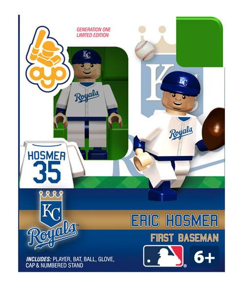 Kansas City Royals MLB Generation One Eric Hosmer Minifigure