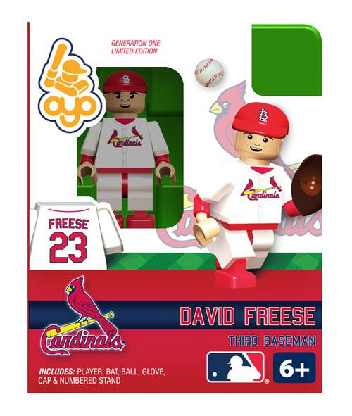 St. Louis Cardinals MLB Generation One David Freese Minifigure