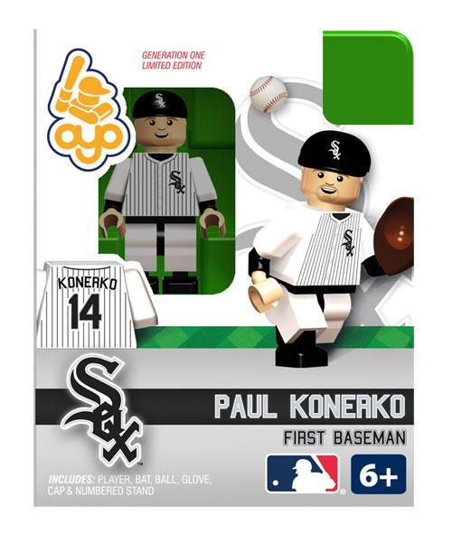 Chicago White Sox MLB Generation One Paul Konerko Minifigure