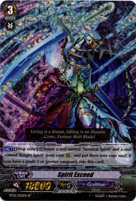 Cardfight Vanguard Onslaught of Dragon Souls SP Spirit Exceed BT02-S02