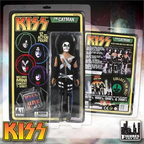 KISS Deluxe Series 1 The Catman 12 Inch Action Figure [Peter Criss]