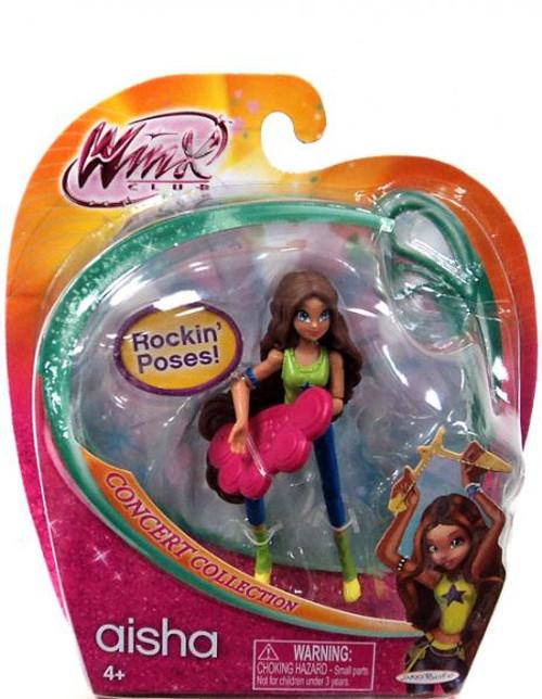 Winx Club Concert Collection Aisha 3.75-Inch Doll Figure