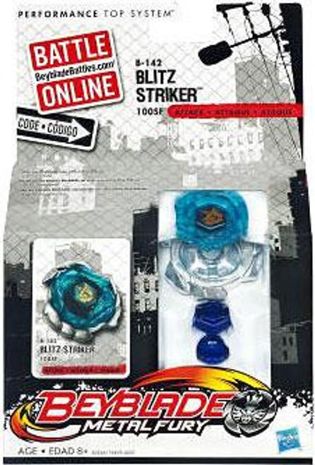 Beyblade Metal Fury Blitz Striker Single Pack B-142