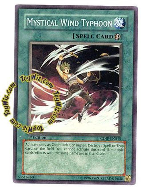 YuGiOh GX Cyberdark Impact Common Mystical Wind Typhoon CDIP-EN045