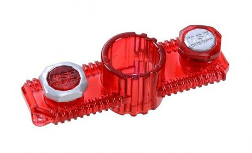 Beyblade Zero G Japanese Metal Stone Face Bolt Accessory BBG-14 [Flame Red]