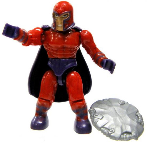 Mega Bloks Marvel Series 3 Magneto Common Minifigure [Loose]