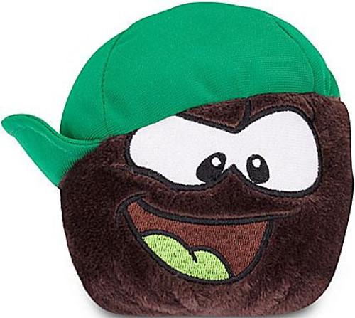 Club Penguin Series 13 Black Puffle 4-Inch Plush [Sideways Hat]
