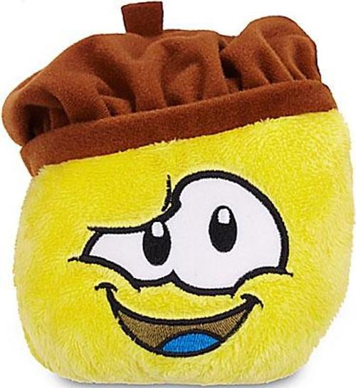 Club Penguin Series 13 Yellow Puffle 4-Inch Plush [Artist Hat]
