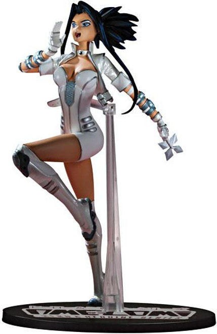 DC Ame-Comi Heroine Series White Canary 9-Inch PVC Statue