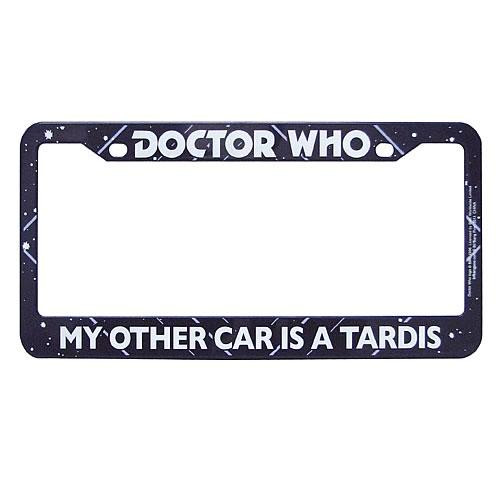 Doctor Who My Other Car is a Tardis License Plate Frame [Classic]