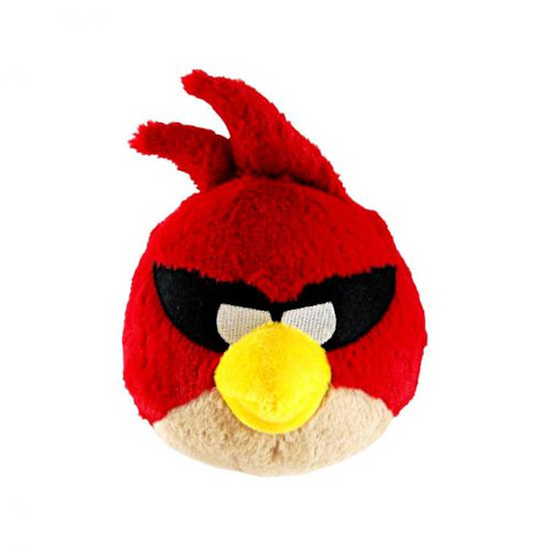 Angry Birds Space Super Red Bird 5-Inch Plush [With Sound]