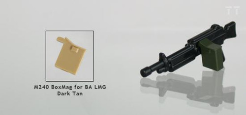 Tiny Tactical M240 Box Magazine [Dark Tan]