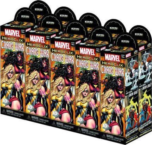 Marvel HeroClix Chaos War Booster Brick