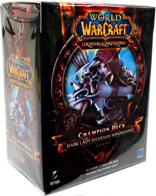 World of Warcraft Trading Card Game Dark Lady Sylvanas Windrunner Champion Deck
