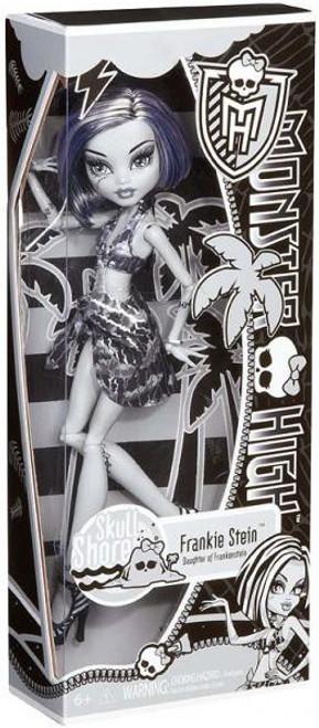 Monster High Skull Shores Frankie Stein 10.5-Inch Doll [Black & White]