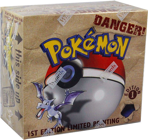 Pokemon Fossil 1st Edition Booster Box [36 Packs] [Sealed]