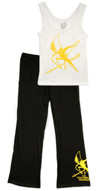 NECA The Hunger Games Mockingjay Women's Pajama Set [XS]