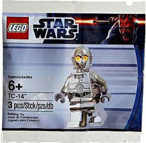 LEGO Star Wars The Phantom Menace TC-14 Protocol Droid Exclusive Minifigure