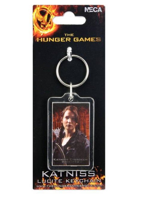 NECA The Hunger Games Katniss Everdeen Keychain [Lucite]