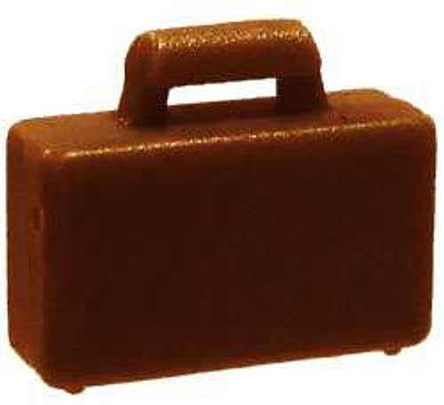 LEGO City Items Reddish Brown Briefcase [Loose]