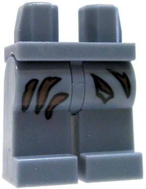 LEGO Minifigure Parts Sand Blue Legs with Tears Loose Legs [Loose]