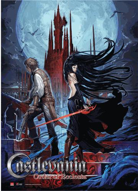 Castlevania Order of Ecclesia Couple Wall Scroll