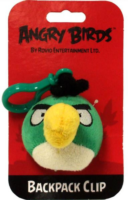 Angry Birds Toucan 3-Inch Plush Backpack Clip [Green Bird]