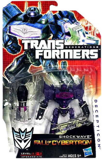 Transformers Generations Fall of Cybertron Shockwave Deluxe Action Figure