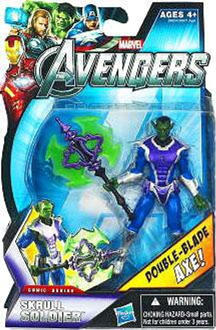 Marvel Avengers Comic Series Skrull Soldier Action Figure