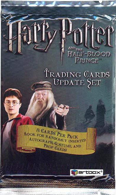 Harry Potter The Half Blood Prince Trading Card Pack [Update Set]