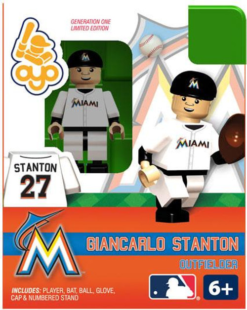 Miami Marlins MLB Generation One Giancarlo Stanton Minifigure