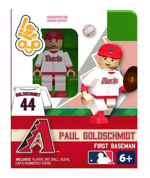 Arizona Diamondbacks MLB Generation One Paul Goldschmid Minifigure