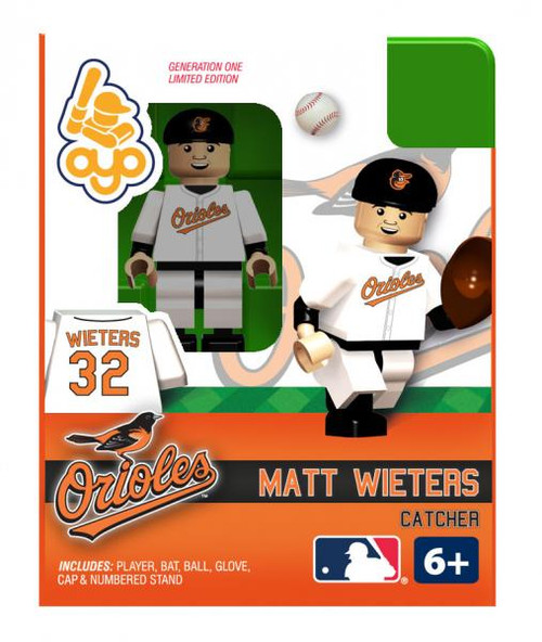 Baltimore Orioles MLB Generation One Matt Weiters Minifigure