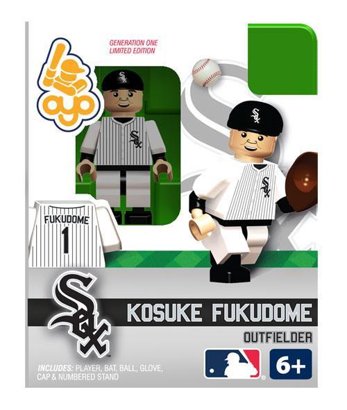 Chicago White Sox MLB Generation One Kosuke Fukudome Minifigure