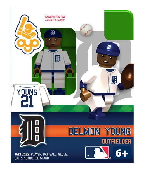 Detroit Tigers MLB Generation One Delmon Young Minifigure