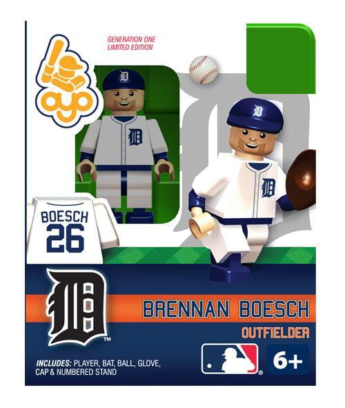Detroit Tigers MLB Generation One Brennan Boesch Minifigure